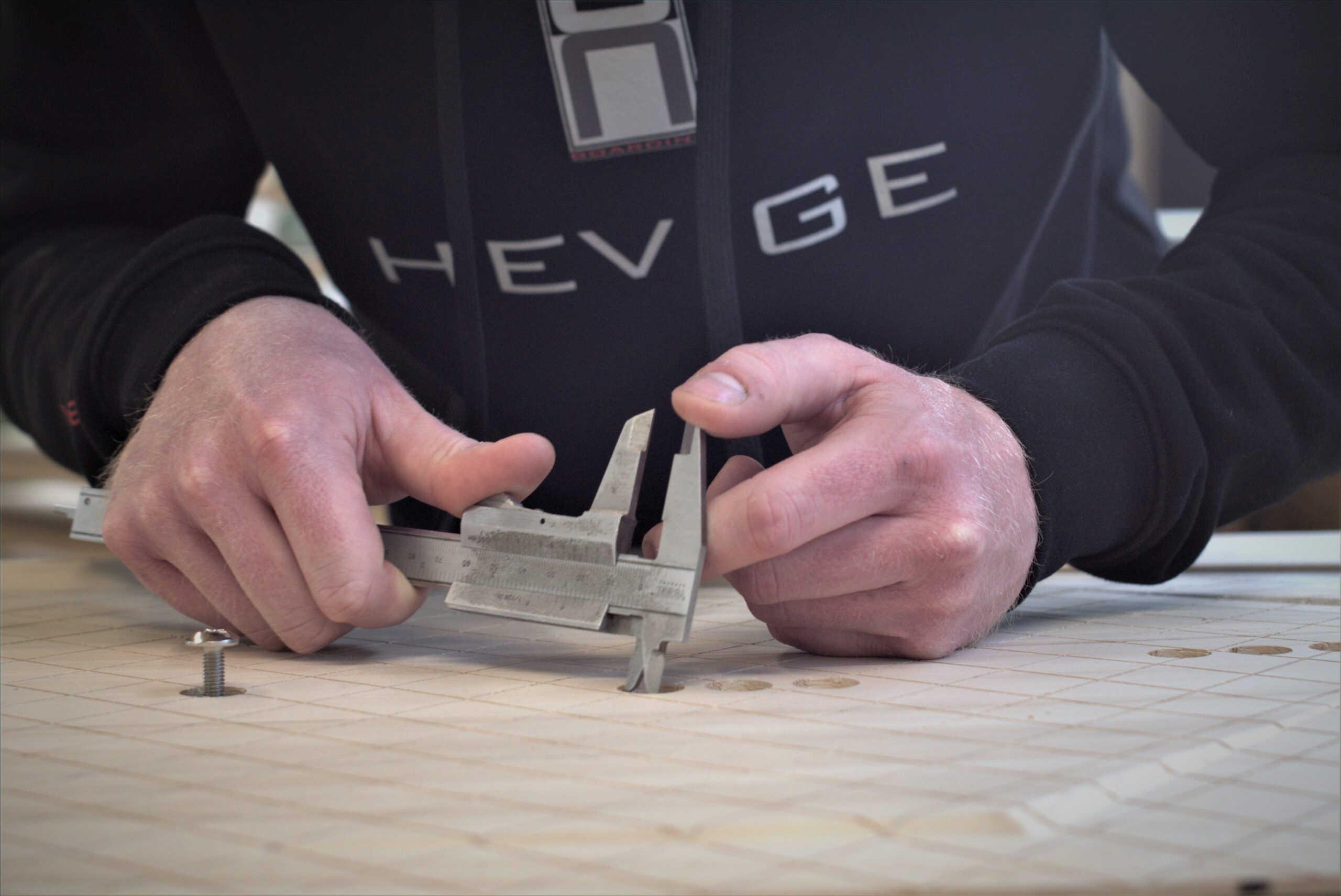 Hevige production 1